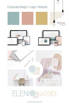 Corporate Design, Logo Design und Website - alles aus einer Hand -  ergibt den optimalen Brand für dein Business ! Web Design, Logo Design, Design Websites, Layout, Corporate Design, Designs, Gallery Wall, Inspiration, Home Decor