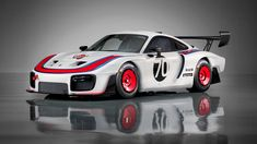 Porsche have revealed to the world a very special car - a Porsche 935 of modern times. The original Porsche 935 from 1978 is a racing legend, and dominated the racing scene for several years including the iconic 24 Hours of Le Mans race. Porsche 911 Gt2 Rs, Porsche 2019, Porsche Club, Le Mans, Cars 1, Race Cars, Supercars, Toyota Corolla, Toyota Camry
