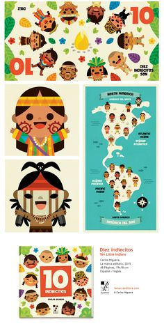 10 indiecitos on Behance