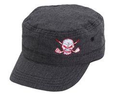0fcda3b6140 Golf tattoo military style hat Girls Golf