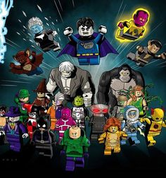 Once the LEGO Batman Beyond Gotham video game was announced for release, I knew that 2015 was going to be a huge year for the LEGO Batman (LEGO DC Super Heroes) line of sets. And as is sometimes the case (I'm batting about lately), my prediction Lego Batman 3, Batman Vs, Minifigura Lego, Superman, Lego Games, Batman Arkham, Lego Dc Comics, Arte Dc Comics, Marvel Dc