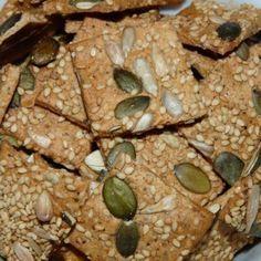 biscuits apéritif graines courge tournesol sésame, lin