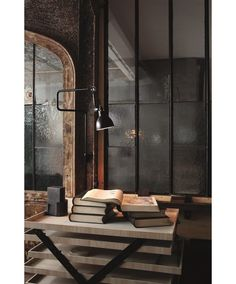Fabulous Tips: Industrial Space Event small industrial apartment.Industrial Home Design. Lampe Industrial, Industrial Living, Industrial Chic, Industrial Design, Vintage Industrial, Industrial Wallpaper, Industrial Bookshelf, Industrial Windows, Kitchen Industrial