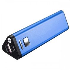 Consumer Electronics 1pc Blue Mobile Power Case Box Usb 18650 Battery Cover Keychain For Iphone For Samsung For Mp3 Drop Shipping Great Varieties