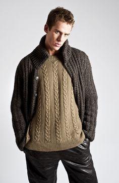 Knit on knit