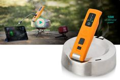 BioLite KettleCharge--Replace your tea kettle with this (especially if you want to be off grid) and charge your devices while you boil your water...Up to 3 cups.