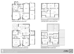 Image Result For 1930 Semi Rear And Side Extension Floor Plans New House Pinterest Side