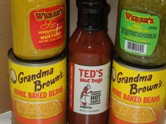 Grandma's Franks & Beans -Upstate NY Grilling & Tailgating Package