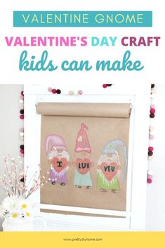Print, trace and then colour this fun Valentine Scroll Sign or giant card. A fun Valentine craft for kids, or a simple Valentines gift kids can make. Family Valentines Day, Valentines Day Cards Diy, Valentine Gifts For Kids, Valentine Activities, Valentine Crafts, Valentine's Day Printables, Family Crafts, Crafts For Kids To Make, Kids Cards