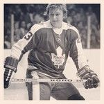 Randy Carlyle from his playing days with the Blue and White