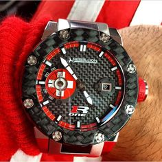 Rebellion timepieces, a special watch for a special swiss team! Rebellion_racing !!! Wristshot!