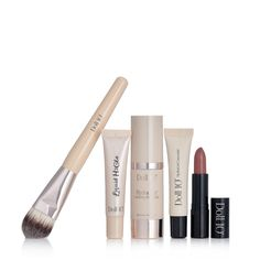 QVCUK TSV Offer 19/09/17...  232350 - Doll 10 5 Piece Lux Edition Make-Up Collection - QVC Price: £60.00  TSV Price: £34.98  + P&P: £3.95 in 6 shade options  This five-piece Lux Edition Make-Up Collection from Doll 10 features two brand new products including the HydraLux Foundation and Foundation Brush, as well as a newly formulated H2Glo Highlighter, plus the bestselling HydraGel Concealer and HydraGel Lipstick.