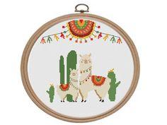 Unicorn Cross Stitch Pattern, Baby Cross Stitch Patterns, Beaded Cross Stitch, Simple Cross Stitch, Baby Cactus, Handmade Shop, Etsy Handmade, Diy Mothers Day Gifts, Cactus Decor