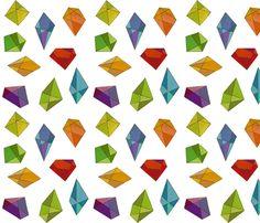 Infinite Jewels fabric by jenimp on Spoonflower - custom fabric
