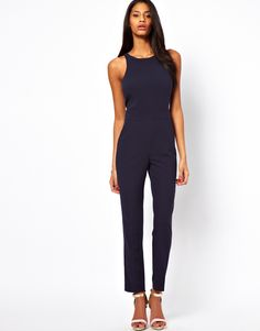 Navy Jumpsuit by Asos. Buy for $85 from Asos
