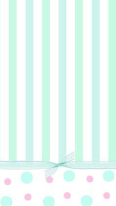 mint greenn stripes .