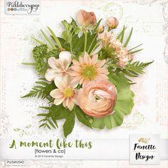 A moment like this {flowers & co} by Fanette Design #fanettedesign #pickleberrypop #digitalscrapbooking #picklebarrel #wedding