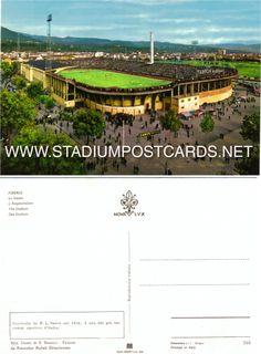 € 1,00 - code : ITA-063 - FIRENZE anno 60 - stadium postcard cartolina stadio carte stade estadio tarjeta postal