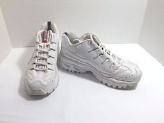 Skechers-Sport-SN-2250-Women-s-White-Athletic-Sneakers-Shoes-SZ-8-5
