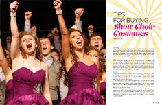 Tips for Buying Show Choir Costumes - Productions Magazine