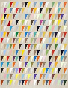 """De Colores 44""""x34"""" acrylic on linen"""