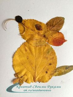 20 Creative Leaf Animal Art 20 Creative Leaf Animal Art -Relaxwoman The post 20 Creative Leaf Animal Art appeared first on Diy Flowers. Autumn Leaves Craft, Autumn Crafts, Fall Crafts For Kids, Autumn Art, Nature Crafts, Diy For Kids, Preschool Crafts, Fun Crafts, Arts And Crafts