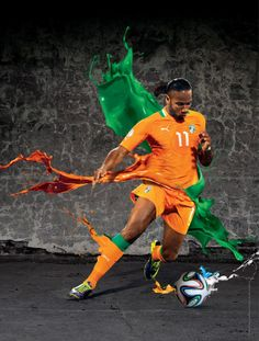 2014 FIFA World Cup Brazil Campaign-Players on Behance