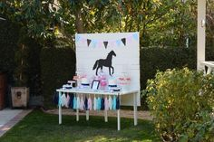 Preppy Pony Party by Bloom Designs