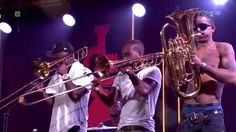 Hypnotic Brass Ensemble - Warsaw Summer Jazz Days 2014... Met Seba Graves on train 449  08/19/2014... going to Chicago to pick up his daughter and take her to Disney World.