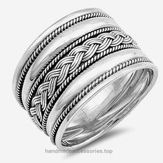 Wide Handmade Bali Ring New .925 Sterling Silver Weave Rope Band Size 9 (RNG17136-9) Check It Out Now     $25.19    All our silver jewelry is crafted from .925 silver also commonly referred to as sterling silver. Sterling silver is t ..  http://www.handmadeaccessories.top/2017/03/27/wide-handmade-bali-ring-new-925-sterling-silver-weave-rope-band-size-9-rng17136-9/