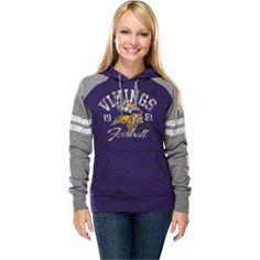 Minnesota Vikings Women's Purple Huddle Hooded Sweatshirt $54.99 http://www.fansedge.com/Minnesota-Vikings-Womens-Gameday-Heroes-II-Purple-Hooded-Sweatshirt-_-889151199_PD.html?social=pinterest_pfid67-08038