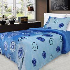 Povlečení mikroflanel Millenium 140×200 + 70×90 – Modré spirály Pohodlné Povlečení mikroflanel Millenium 140×200 + 70×90 – Modré spirály levně.Dvoudílná sada z mikroflanelu. Pro více informací a detailní popis tohoto povlečení přejděte na stránky obchodu. … Comforters, Blanket, Bedding, Home, Creature Comforts, Quilts, Bed Linens, Ad Home, Blankets