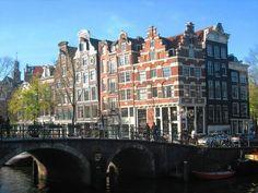 Jordaan neighborhood, amsterdam, the netherlands