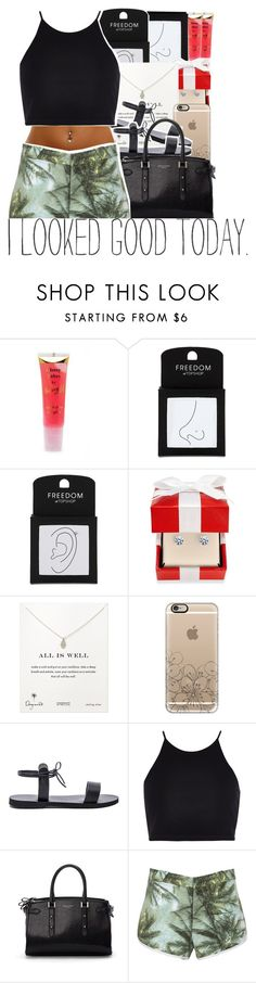 """05-04-2016."" by trillestqueen ❤ liked on Polyvore featuring Barry M, Topshop, Dogeared, Casetify, Isapera, River Island and Aspinal of London"