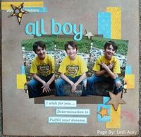A Project by leslicsa from our Scrapbooking Gallery originally submitted 12/13/12 at 02:09 PM