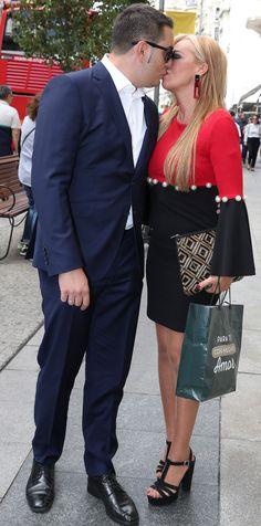 Belén Esteban y Miguel derrochan felicidad de boda Tot Hom, Hermes Birkin, Outfit, Fashion, Rugby Players, Celebrity News, Swimmers, Ana Rosa, Outfits