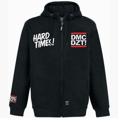 Hard Times (DMC Collab) - Kapuzenjacke von Dissizit - MZEE.com Artikel-Nr.: 201886 - ab 49,99 € - MZEE.com Shop - VERSANDKOSTENFREI - Hip Ho...