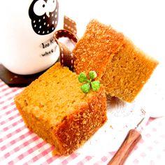 gula melaka butter cake ~ highly recommended Malacca coconut sugar butter cake ~ strong push