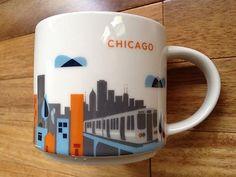 Chicago 2013 Starbucks You Are Here Mug Brand New   eBay