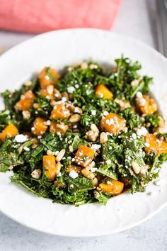 Warm Kale Salad- this vegetarian kale salad makes for the perfect winter meal or side dish. Topped with goat cheese pine nuts and a delicious balsamic dressing! Organic Recipes, Raw Food Recipes, Vegetarian Recipes, Healthy Recipes, Dinner Recipes, Cooking Recipes, Winter Salad, Winter Food, Healthy Meal Prep