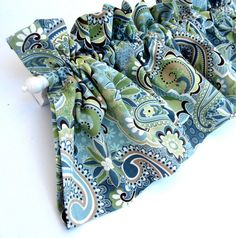 PICK YOUR FABRIC 2 Valance Curtain Custom Made by bananabunch, $32.00