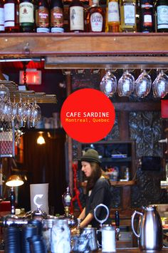 Cafe Sardine / Mile End / Montreal / Quebec