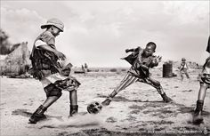 Skull soccer #Child Soldiers