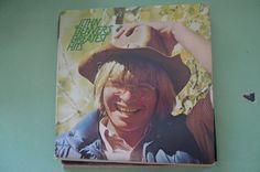 vintage vinyl classic  john denvers greatest hits  by cozystudio $10.00
