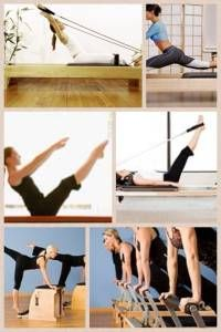 pilates collage...so love my pilates session's