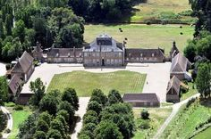 Residential property for sale in Bourges, France : Rare listed century chateau in the Bourbonnais. Popular Holiday Destinations, French Castles, Château Fort, French Property, Indoor Swimming Pools, Chapelle, French Chateau, France, Architecture