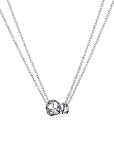 NEW Linked by Love Sterling Silver Necklace