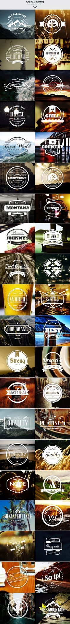 Logo Templates Product Images ~ MEGA BUNDLE 326… ~ Creative Market