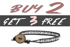BUY 2, GET 3 FREE Use code buy2get3 SALE ENDS 09/03 Three's a charm! Celebrate the three day weekend and grab back-to-cool style for you and...
