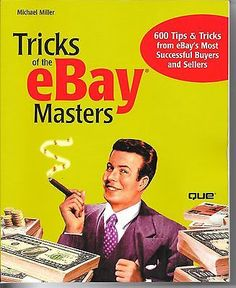 Ebay Masters Tricks of eBay Book 600 tips Most Successful Buyers Sellers Crafts:Scrapbooking & Paper Crafts:Instruction Books & Media www.internetauctionservicesllc.com $10.00